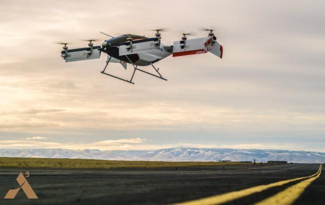 Фото: беспилотное аэротакси Airbus (Vahana)