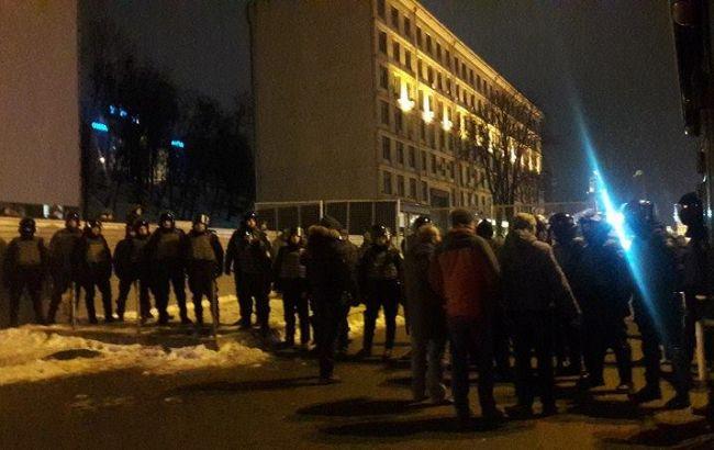 Зіткнення в центрі Києва: поліція відкрила кримінальне провадження