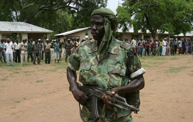 Фото: Військовий у Центральноафриканській республіці (gladiaator.com)