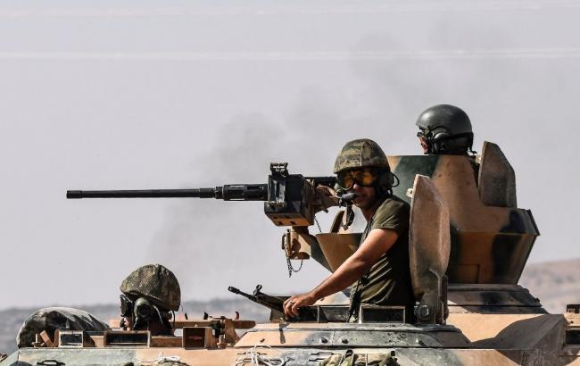 Фото: военные Турции в Сирии