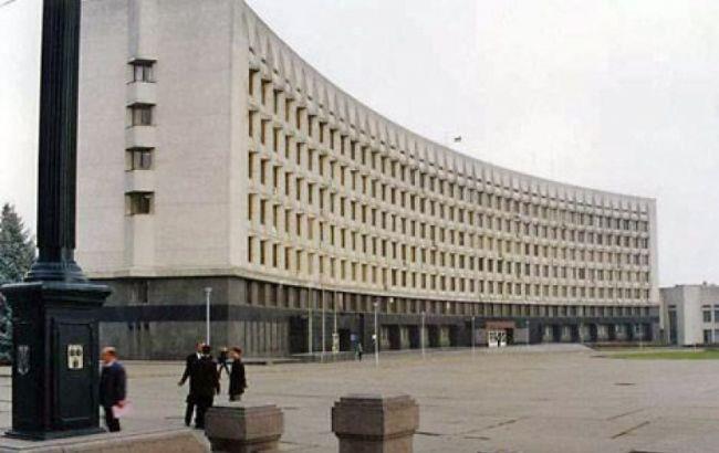 Фото: здание Сумского горсовета