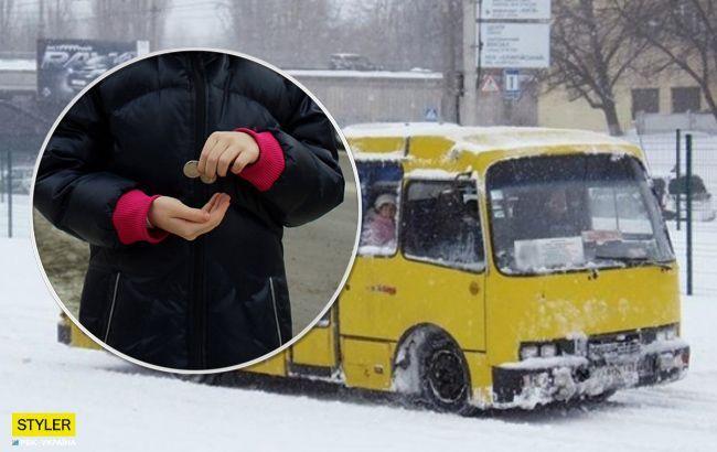 Высадил 11-летнюю девочку на мороз: в сети разгорелся новый скандал