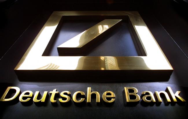Фото: акции Deutsche Bank упали до исторического минимума