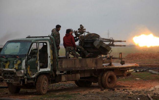 Фото: боевые действия в районе города Эль-Баб