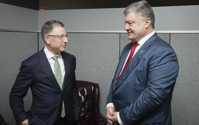 Фото: Волкер и Порошенко (president.gov.ua)