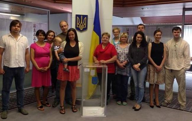 Украинцы Австралии завершили голосование на выборах в Раду