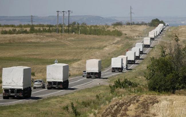У останніх двох гумконвоях з Росії завезли обладнання для тренувальних таборів терористів , - СБУ