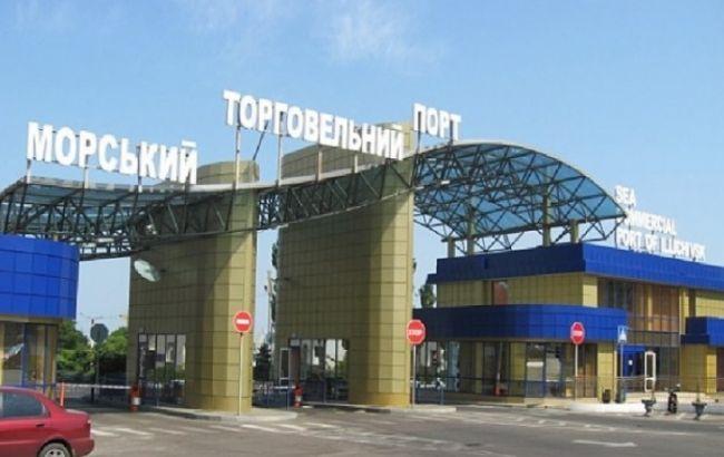 Фото: таможенный пост в Одессе