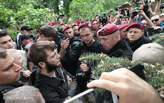 Милиция задержала 2-х людей зазапрещенную символику иодного сружьем