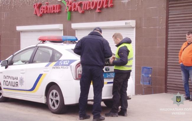 Фото: в Одесі сталося ДТП (ГУ Нацполиции в Одеській області)