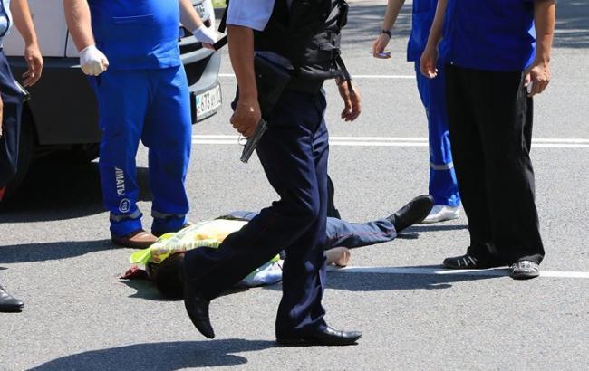 Фото: стрілянина в Алмати