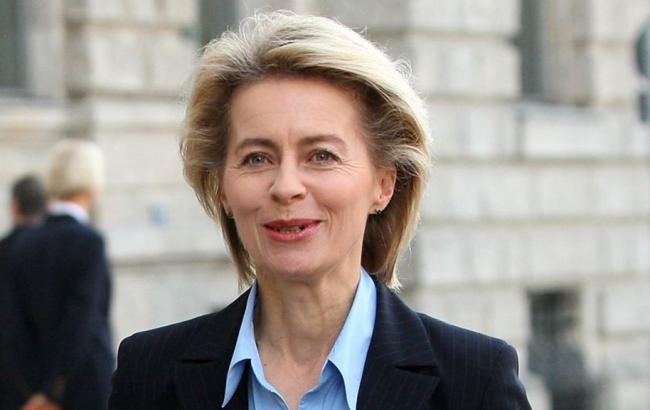 Фото: міністроборони Німеччини Урсула фон дер Ляєн