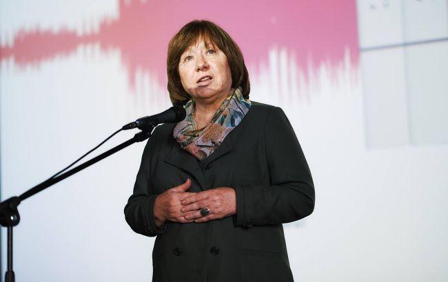 Алексієвич спростувала створення нової координаційної ради у Білорусі