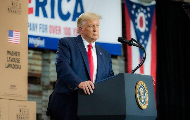 Трамп хоче зупинки підрахунку голосів на виборах президента США