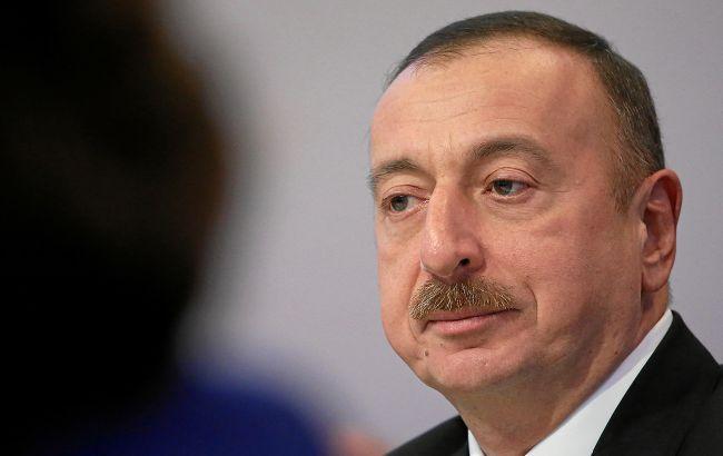 Алієв заявив про звільнення міста в Нагірному Карабасі