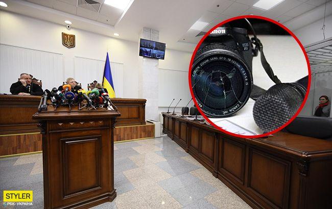 Журналістка Шарія влаштувала скандал під час суду у справі Шеремета (відео)