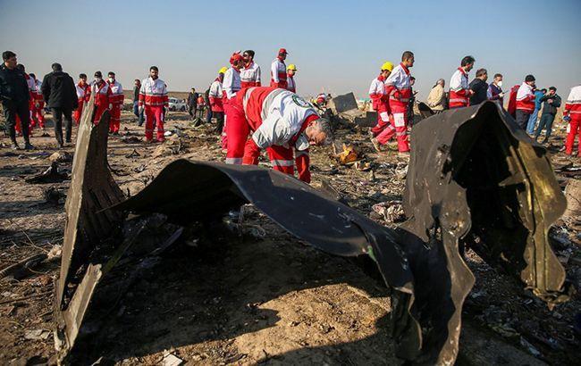 Расшифровку черных ящиков сбитого самолета МАУ начнут 20 января