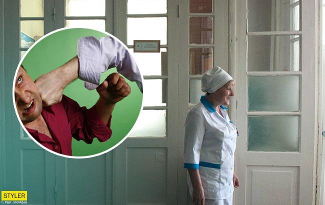 У Запоріжжі родичі померлої бабусі жорстоко побили лікарів ногами