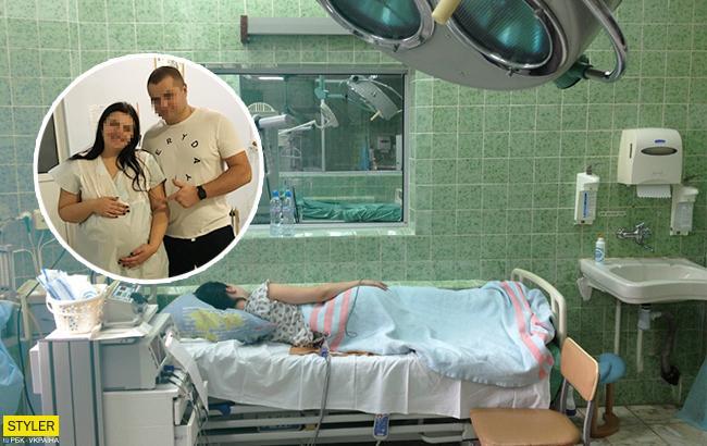 Младенец при смерти: 22-летняя роженица из Ровно обвинила врача в мучительных родах