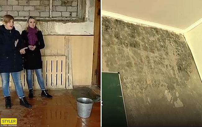 На Волыни родители запретили учить своих детей в затопленных классах