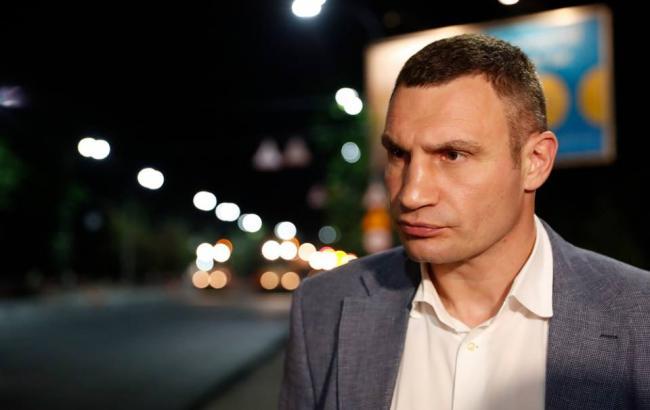 Фото: Віталій Кличко (прес-служба КМДА)