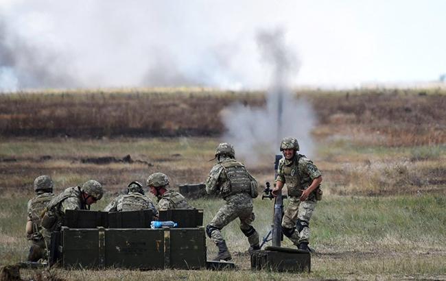 В зоні АТО за добу поранено трьох військових, загиблих немає