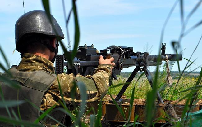 За день в АТО двоє українських військових отримали поранення