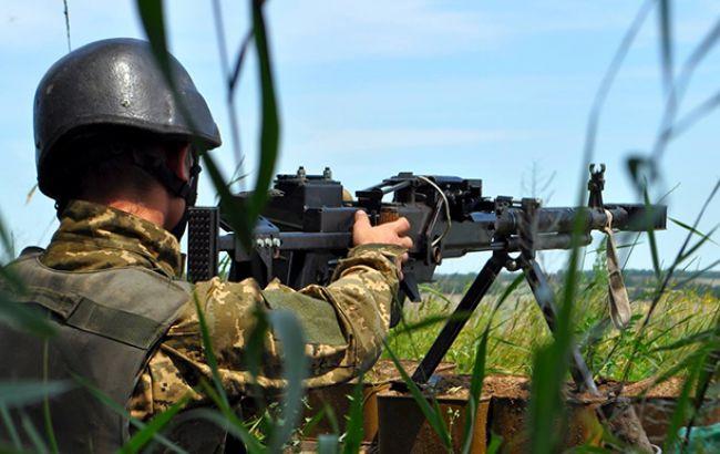 Кількість обстрілів українських позицій на Донбасі збільшилася майже вдвічі, - штаб АТО
