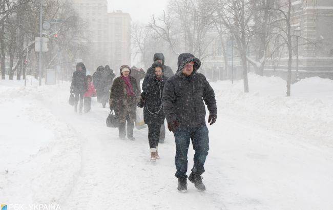 В Україну йде жахлива погода: крижані дощі і мокрий сніг