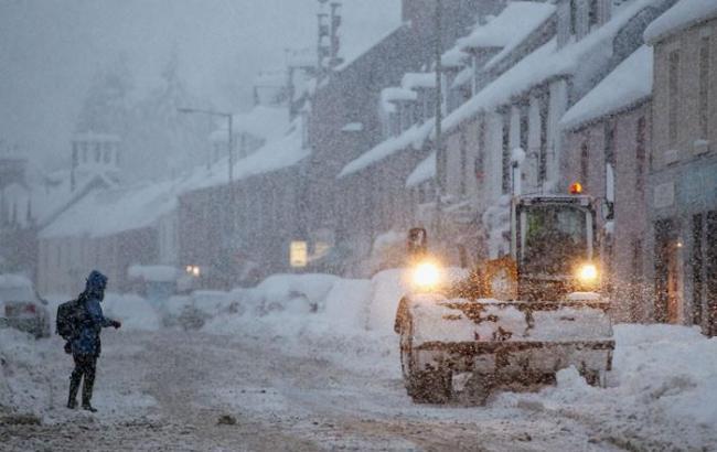 Синоптики прогнозируют снегопады и метели в Украине до 17 ноября