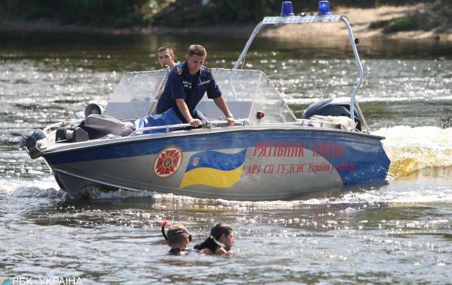 В Киевском водохранилище ищут двух пропавших людей: из них один ребенок