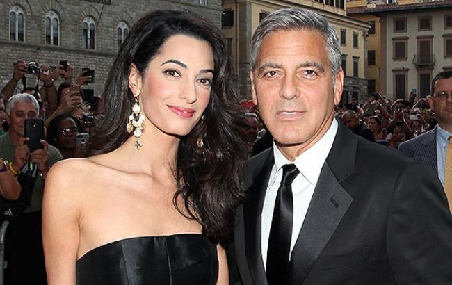 Фото: Джордж Клуни и Амаль Аламуддин