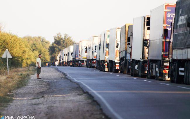 Въезд грузовиков в Киев ограничили из-за жары