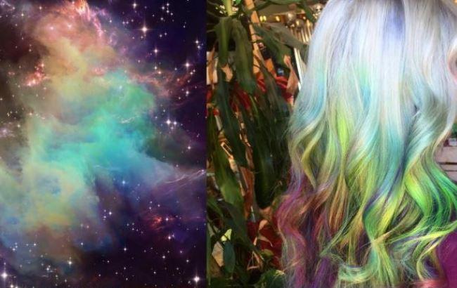 "Galaxy hair: в моду входять ""галактичні"" волосся"