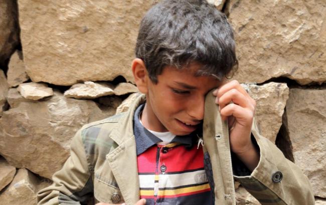 Фото: в початкову школу в Ємені потрапив снаряд