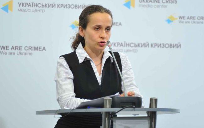 Фото: замглавы МЭРТ Юлия Клименко
