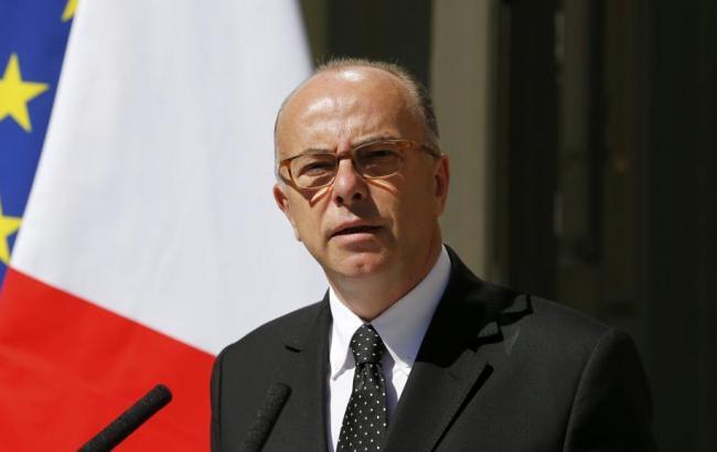 Фото: міністр внутрішніх справ Франції Бернар Казнєв