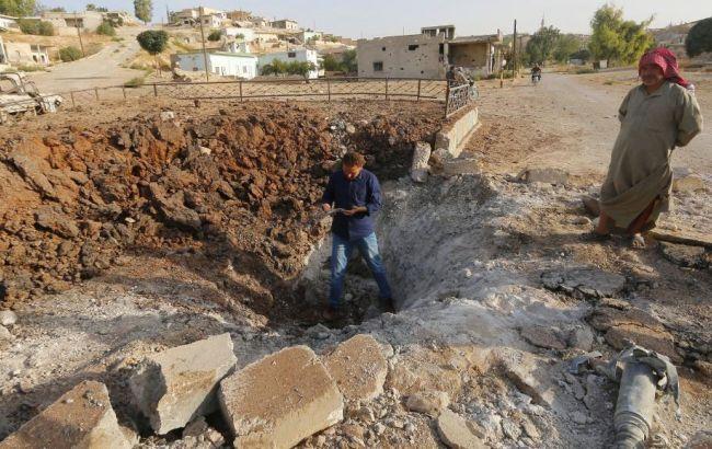 Фото: РФ використовує в Сирії бункерні бомби