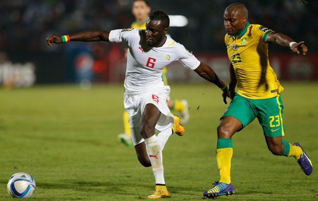 Фото: матч отборочного турнира ЧМ-2018 между ЮАР и Сенегалом