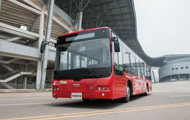 В «Поднебесной» начались тестирования нового беспилотного автобуса