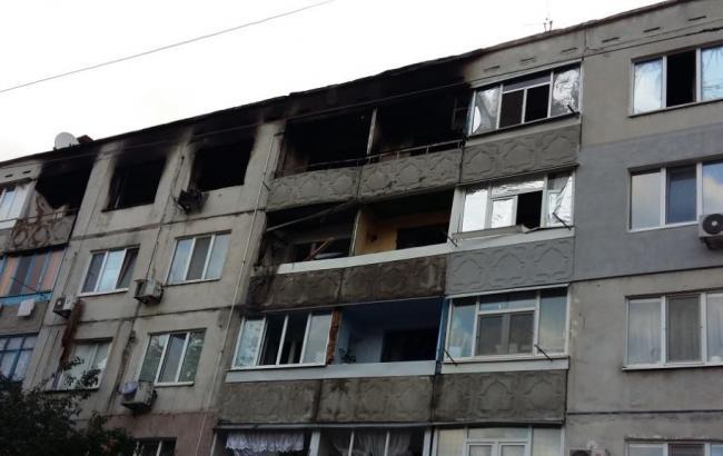 Фото: взрыв газа в Павлограде