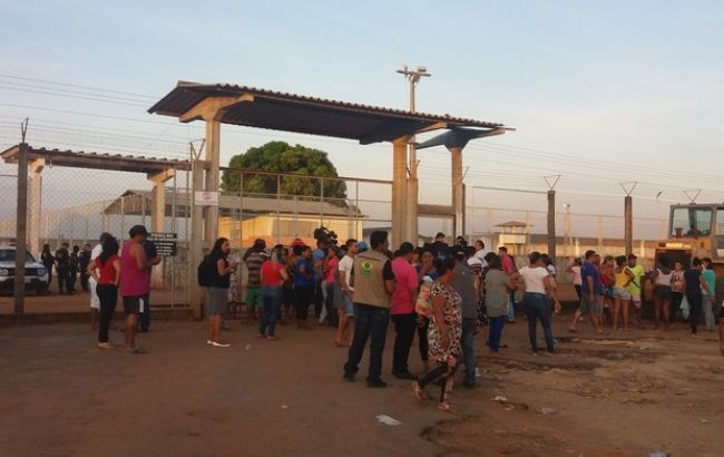 Фото: в результате столкновений в бразильской тюрьме погибли 25 человек