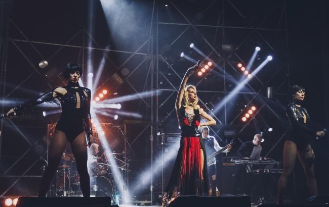 Фото: Loboda отыграла концерт в Сумах (пресс-служба)