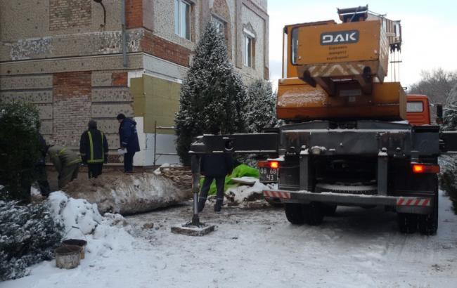 Фото: в Нежине погиб рабочий