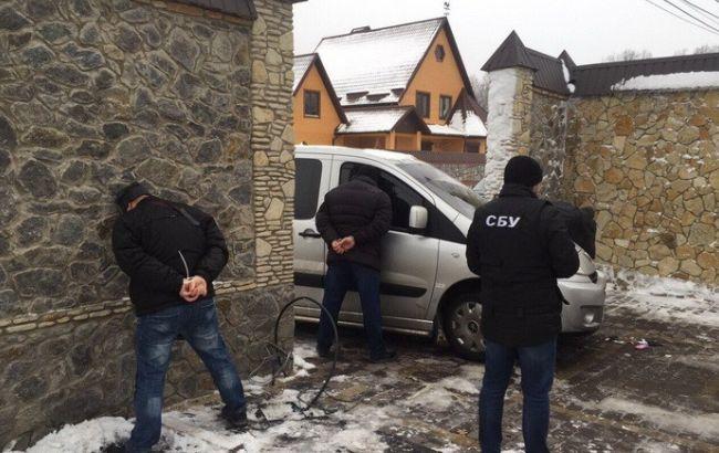 """Фото: СБУ в Виннице задержала банду """"Самвела Московского"""""""