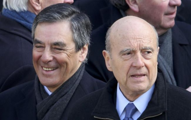 Фото: Франсуа Фійон значно випереджає Алена Жюппе
