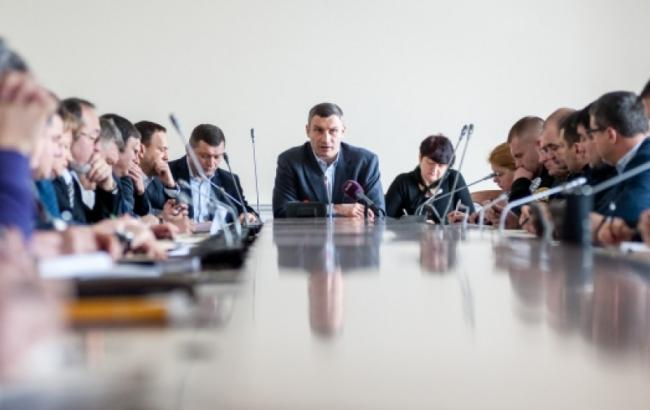 Фото: Виталий Кличко на координационном совещании