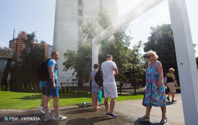 Июнь в Киеве был самым жарким в истории
