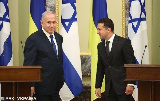 Зеленський: Україна та Ізраїль домовилися вирішити проблему з відмовами на кордоні