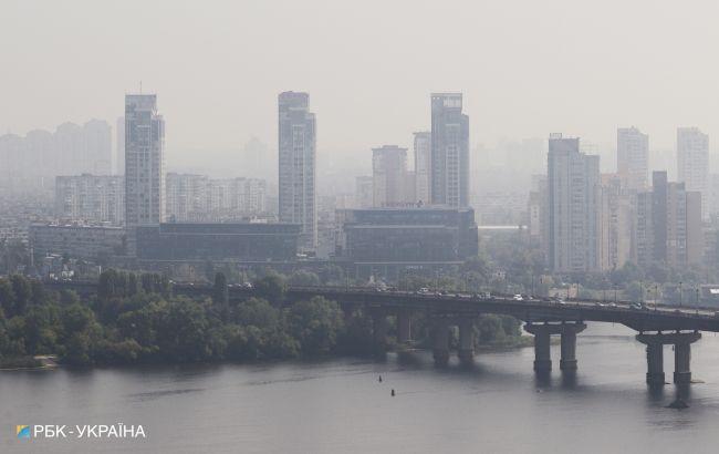 В Укргидрометцентре оценили, насколько загрязнен воздух в Киеве